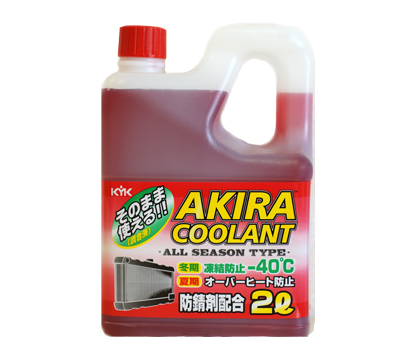 AKIRA COOLANT ALL SEASON -40ºC 2 литра