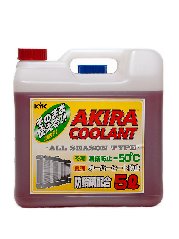 AKIRA COOLANT ALL SEASON -50ºC 5 литров
