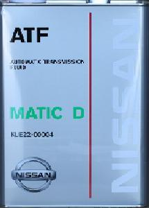 ATF MATIC D 4 литра